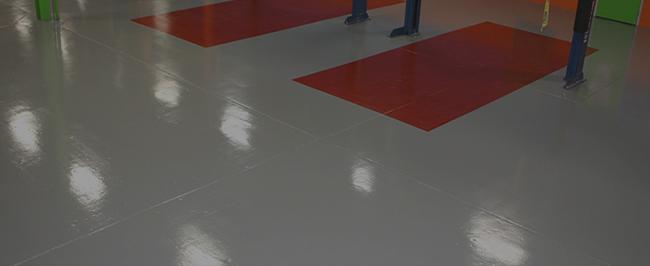 бетонные полы с топпингом - устройство