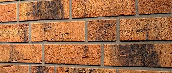 облицовка фасада кирпичом